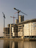 Waterside construction  Stock Images
