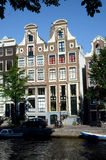 Waterside de Amsterdão Imagens de Stock Royalty Free