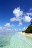 Waterside dell'isola tropicale Immagine Stock Libera da Diritti