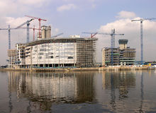 Waterside development Royalty Free Stock Images