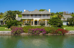 Waterside House in Naples, Florida Stock Photography