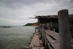Waterside par la mer Photographie stock libre de droits