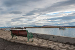 By the waterside in Puerto Natales, Chile Royalty Free Stock Photo