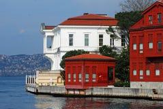 Waterside residences. At Bosporus, Istanbul Stock Photo