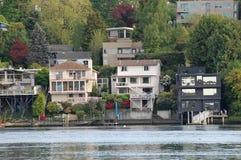 Waterside residences Stock Image