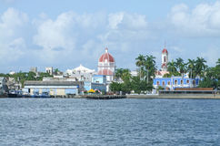Waterside scenery around Cienfuegos Royalty Free Stock Photo