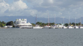 Waterside scenery around Cienfuegos Stock Photography