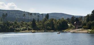Waterside scenery around the Schluchsee Stock Photos