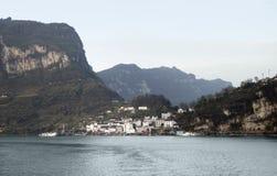 waterside yangtze пейзажа реки стоковое изображение