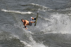 Waterski in Action Royalty Free Stock Images