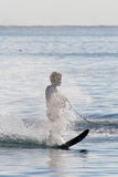 Waterski boy Royalty Free Stock Images
