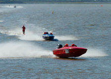 Waterski Racing Royalty Free Stock Photos