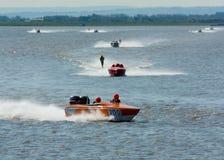 Waterski Racing Stock Photo