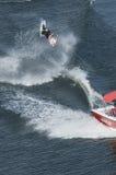 Waterskier na ação Fotografia de Stock Royalty Free