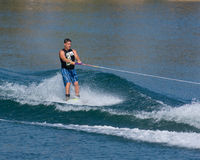 Waterskiier Royalty Free Stock Photo