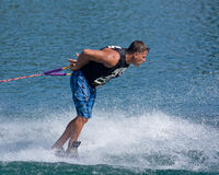 Waterskiier Royalty Free Stock Photography