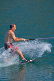 Waterskiier Stock Images