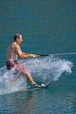 Waterskiier stock images