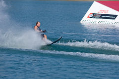 Waterskiier Royalty Free Stock Images
