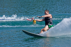 Waterskiier Stock Photography