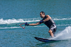 Waterskiier Stock Image