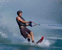 Waterskiier royalty free stock photo