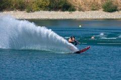 Waterskiier royalty free stock image