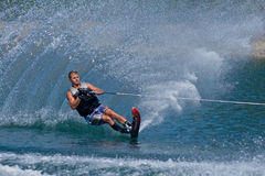 Waterskiier Fotografia Stock
