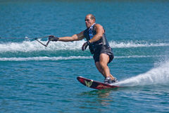 Waterskiier Fotografia de Stock Royalty Free