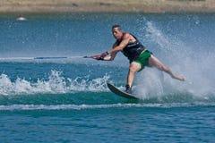 Waterskiier Imagens de Stock Royalty Free