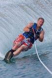Waterskiier stock photos