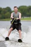 Waterskiing royalty free stock image