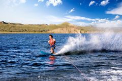 Waterskiing Royalty Free Stock Photography