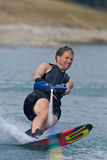 Waterskiing competition Royalty Free Stock Photos