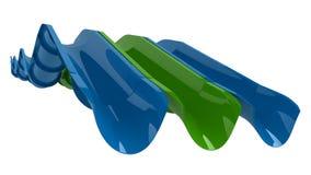 waterslide Στοκ Εικόνα
