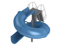 Waterslide Royalty Free Stock Photography