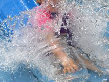 Waterslide Stockfoto