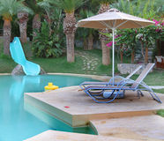 Free Waterslide And Swimming Pool Stock Photos - 16556383