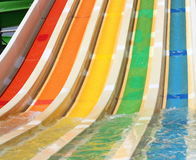 Waterslide background Royalty Free Stock Images