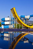 Waterslide. Royalty Free Stock Images