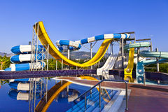 Waterslide. Stock Image