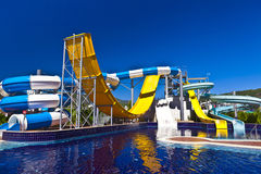Waterslide. Royalty Free Stock Photography