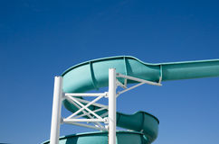 Waterslide on a Cruise Ship Royalty Free Stock Images