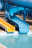 Waterslide at holiday resort Stock Image
