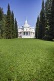 Waterslide pavilion. Oranienbaum (Lomonosov). Upper park Royalty Free Stock Photos