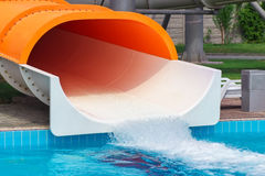 Waterslides. Royalty Free Stock Images