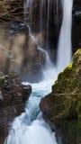 Watersmeet Devon England Arkivfoto