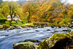 Watersmeet Haus Stockfotos