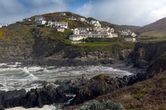 Watersmeet and Mortehoe Woolacombe Devon Stock Image