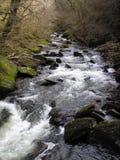 Watersmeet - río Lyn Fotos de archivo libres de regalías